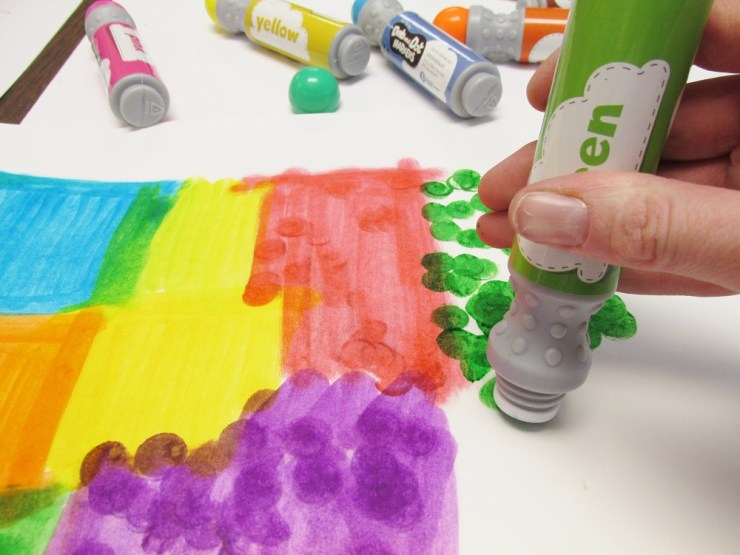Dab and Dot Markers (4)