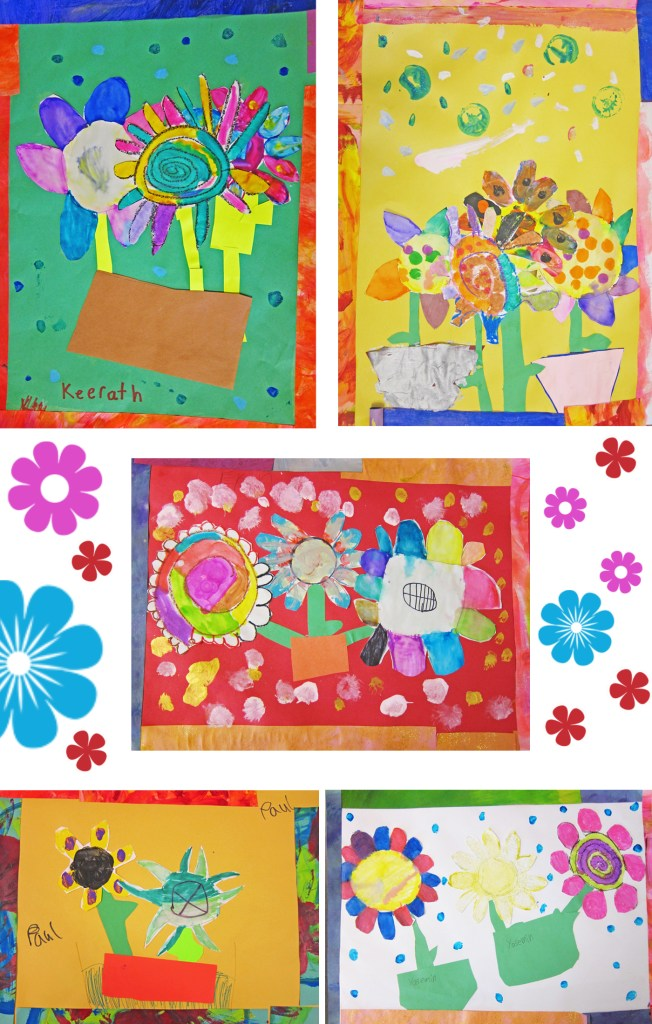 Flowers By First Grade