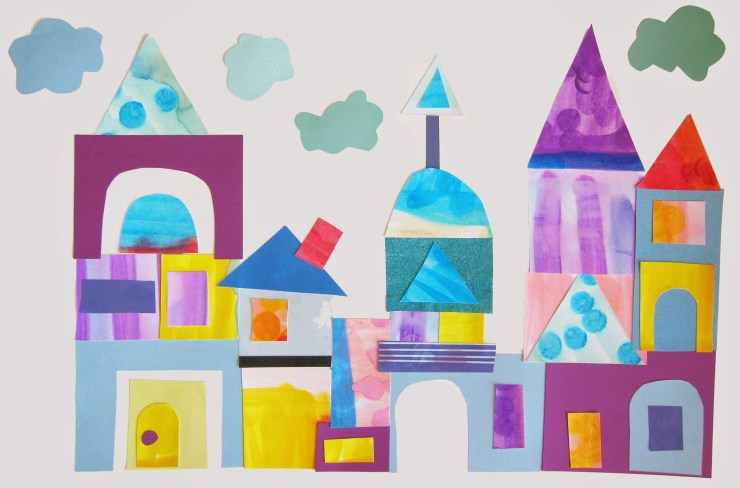 Paul Klee Inspired Castle