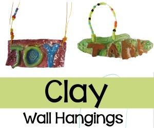 Clay Wall Hangings:  2nd Grade