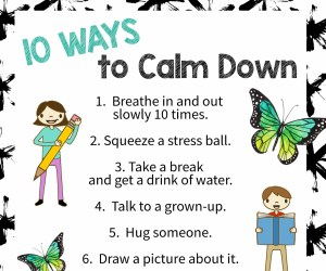 10 Ways to Calm Down thumb