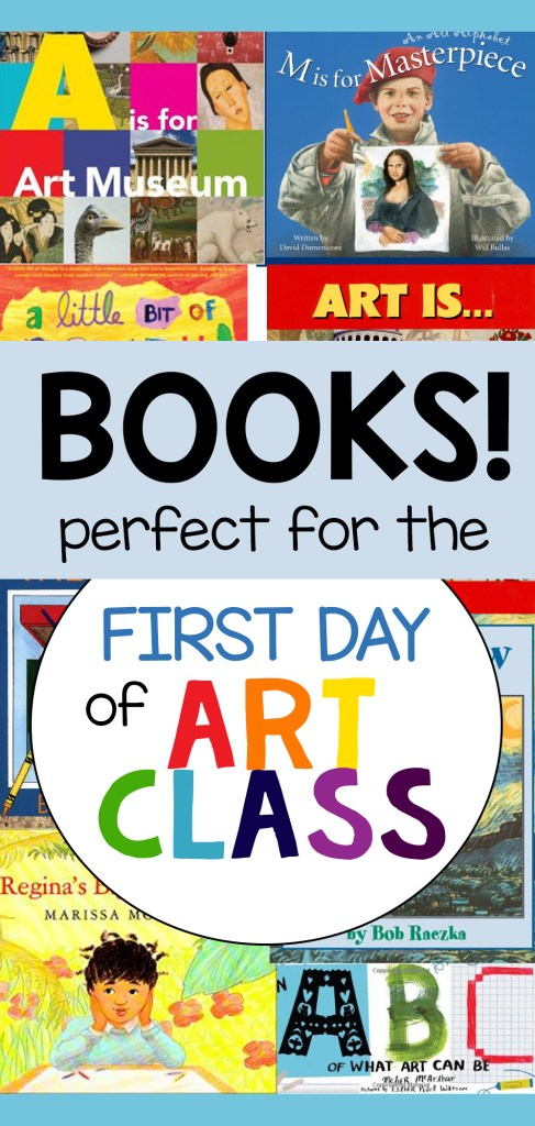 Books for the First Day of Art Class