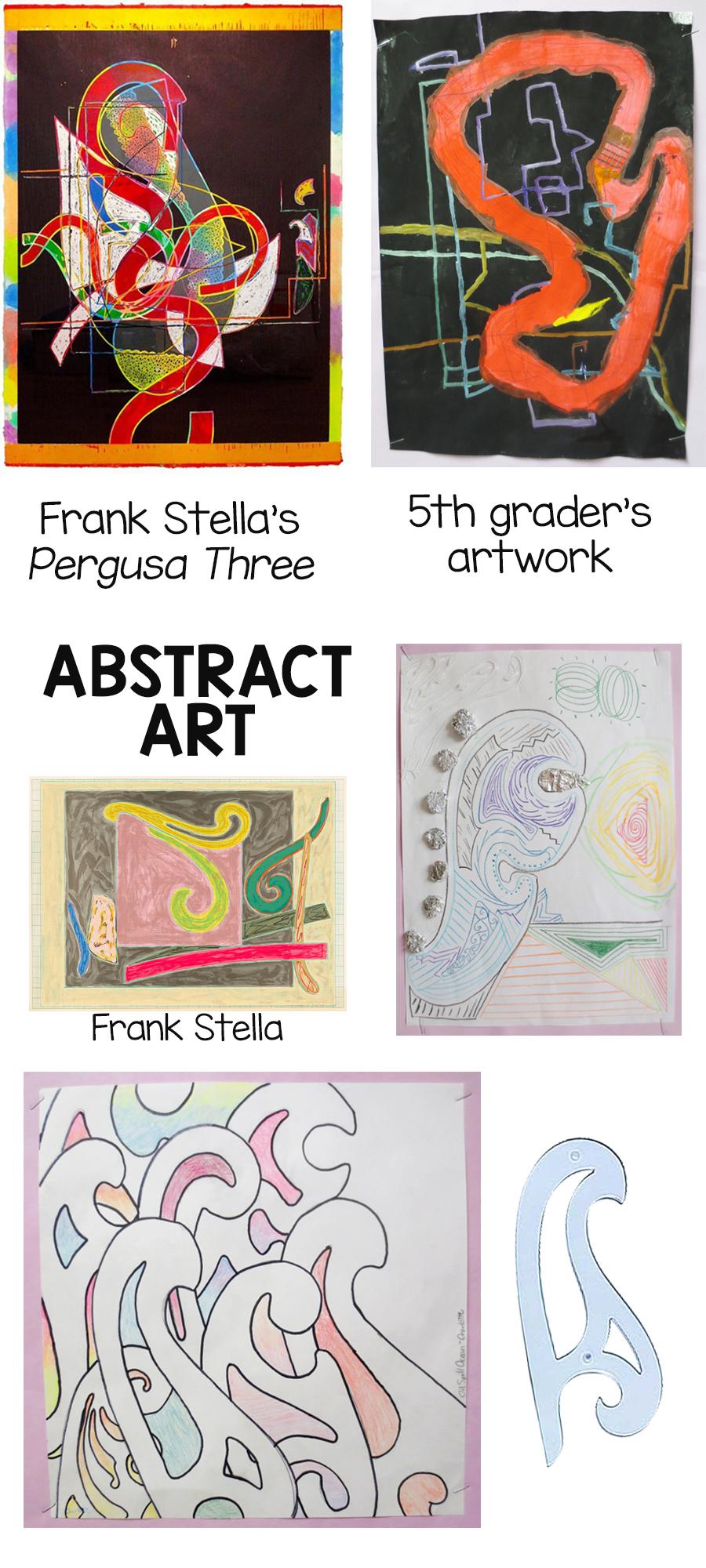 Frank Stella art for kids