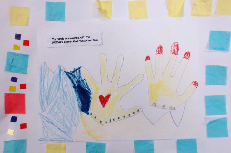 Primary Hands 4