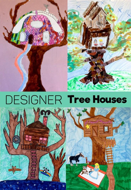 Tree House Drawings2