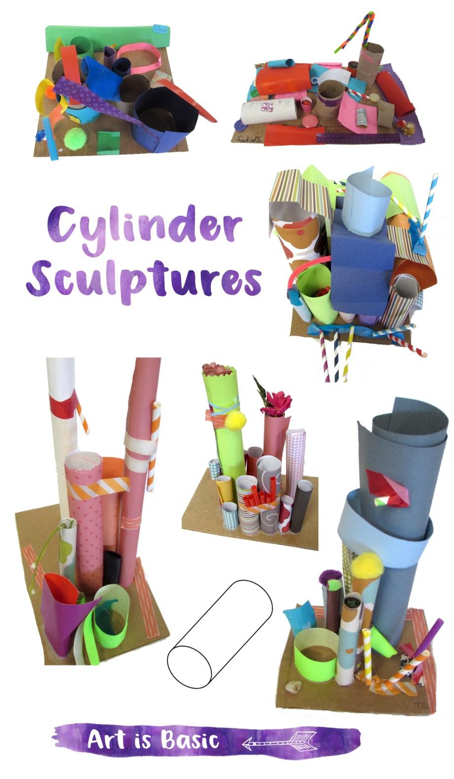 Cylinder Sculptures2