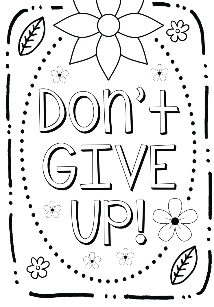 Growth Mindset Coloring Page2