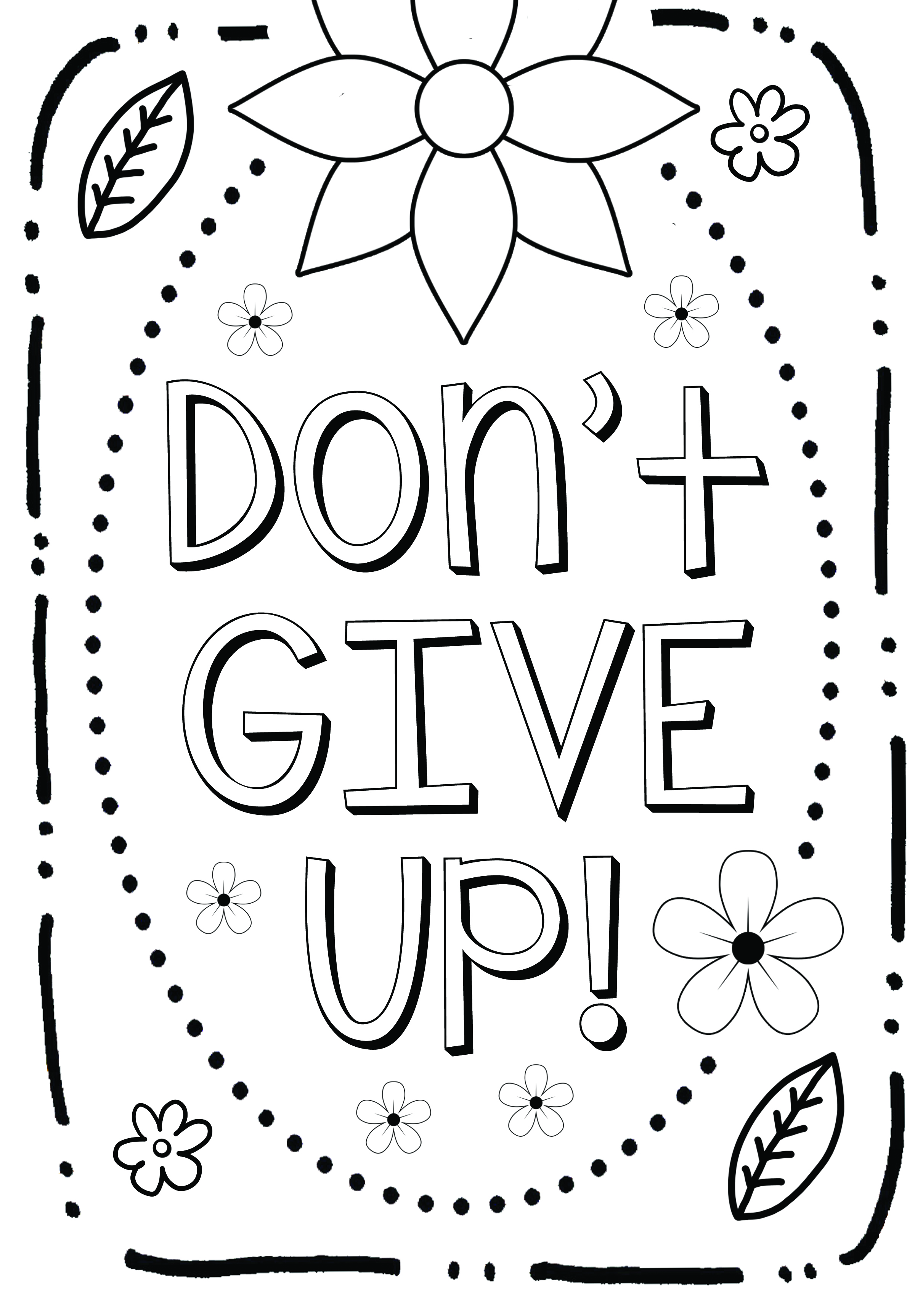 Growth Mindset Coloring Page Growth Mindset Coloring Page2. For High  Resolution PDF Download ...