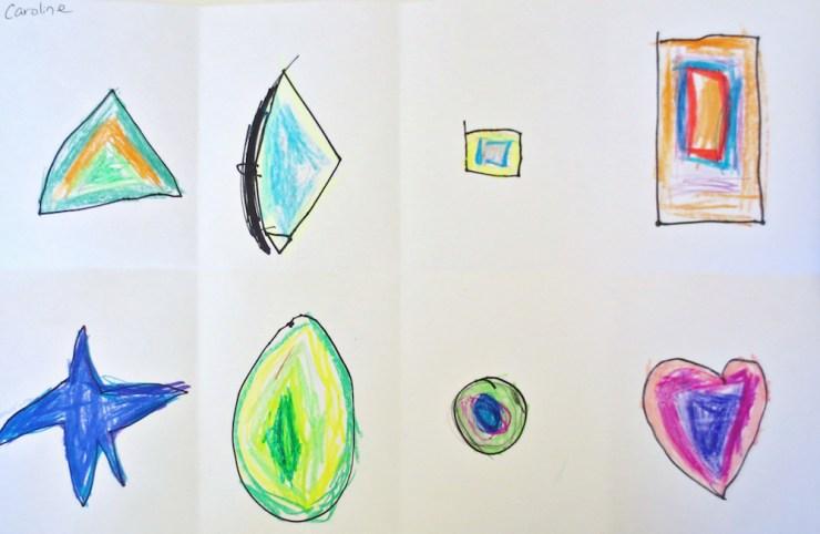 Kindergarten Shape Art Project00003
