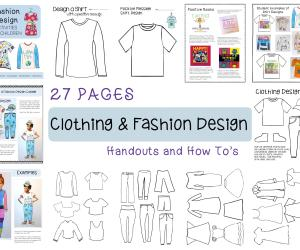 Fashion Design Activities:  New Product Alert!