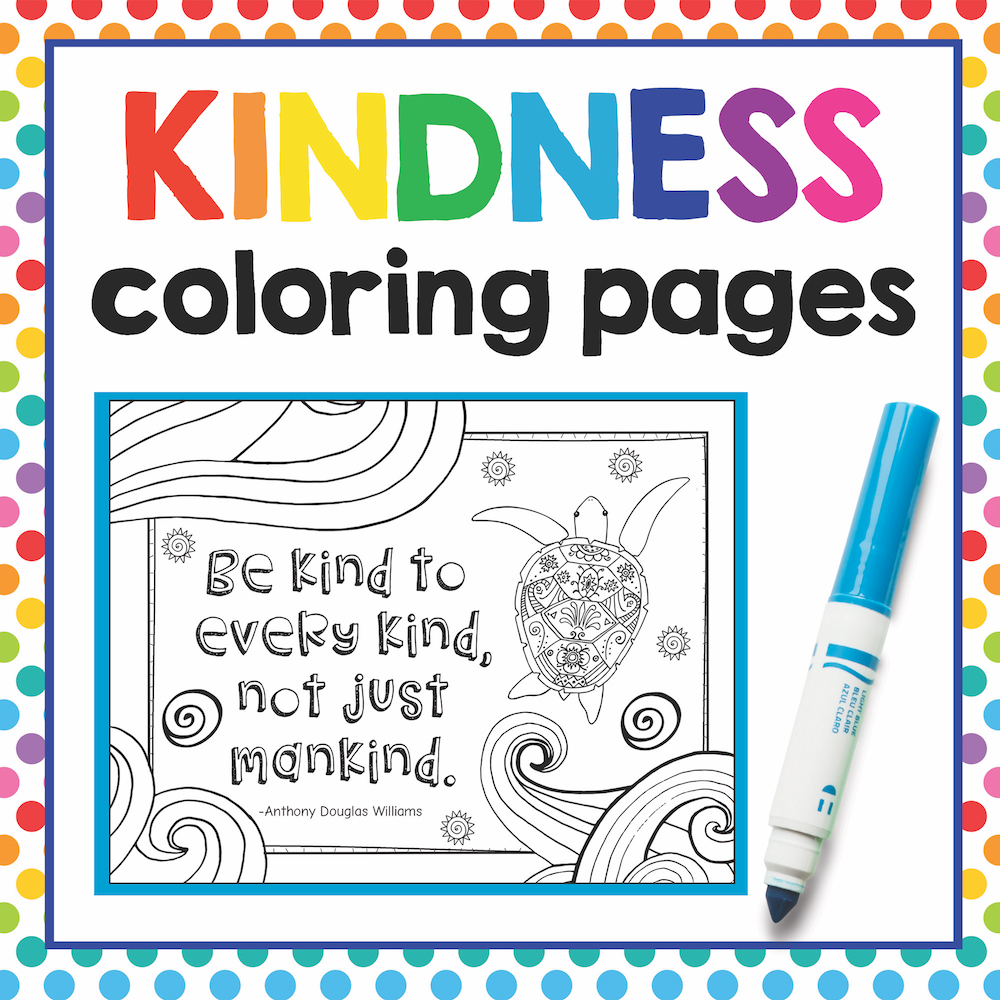 kindness coloring pages free sample page art is basic an elementary art blog kindness coloring pages free sample