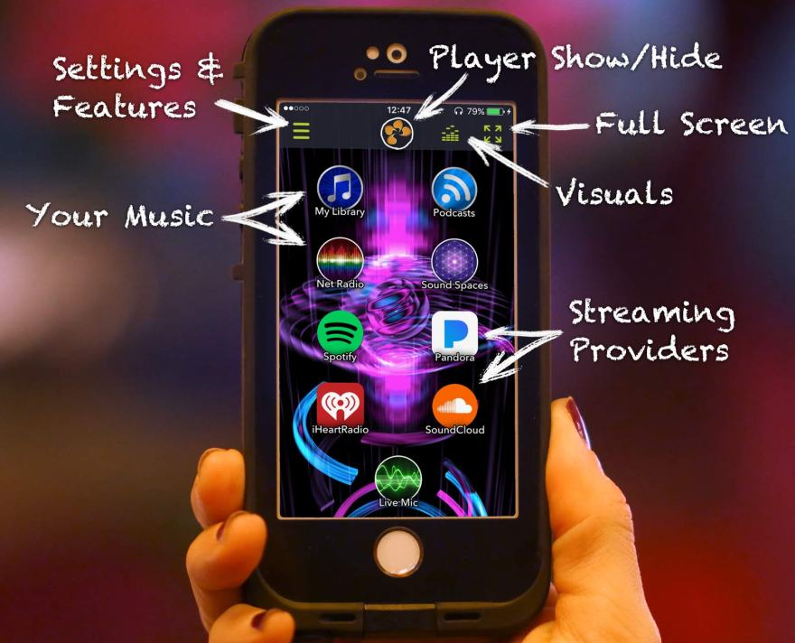 Tunr Multi-Source Streaming Music