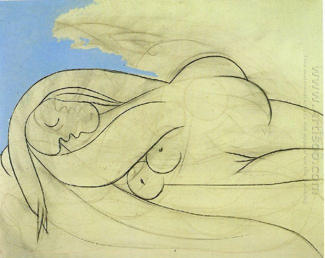 Lying Female Nude 1932