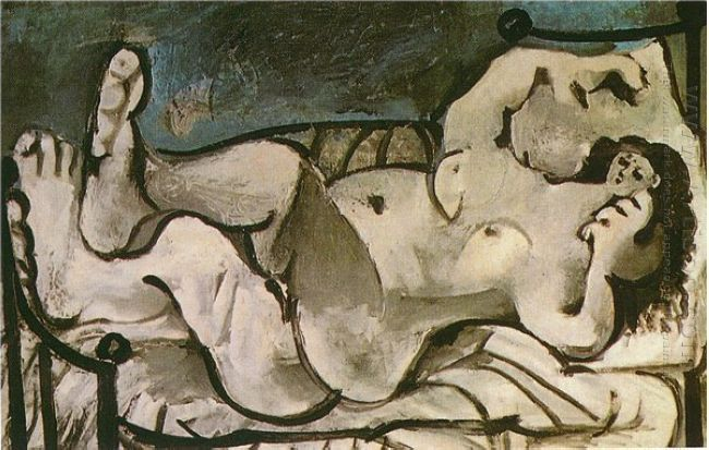 Lying Female Nude 1964