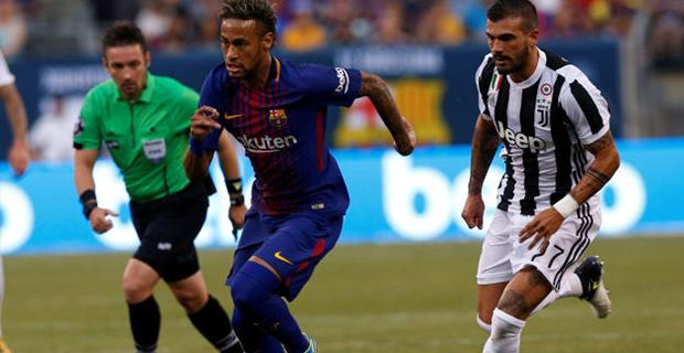 Tampil Gemilang, Neymar Bantai Habis Juventus Dengan Skor 2-1