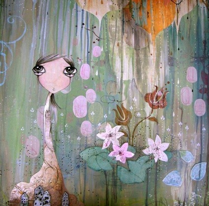 Kendra Binney - Portland OR Painter - Oregon Based Artist - Artistaday.com