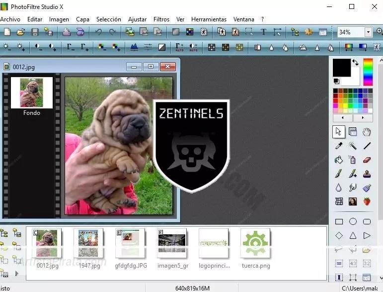 photofiltre studio x 2012 gratuit