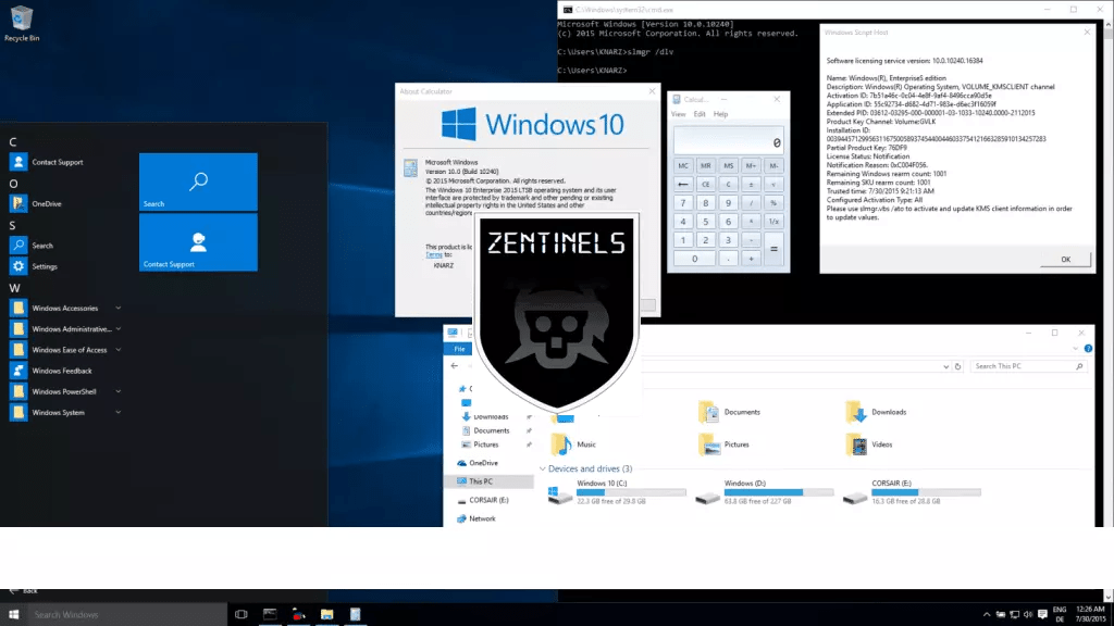Windows 10 ligero