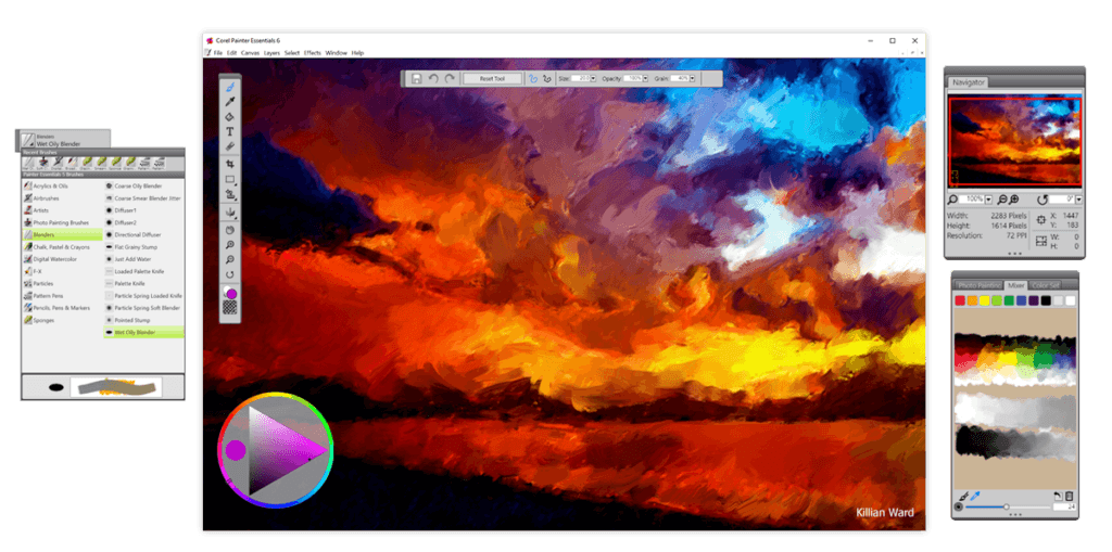 MAC OSX - Corel Painter Essentials 6