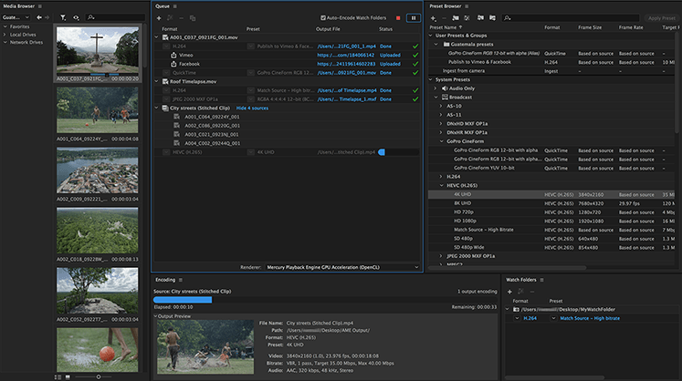 ADOBE MEDIA ENCODER CC 2019 FULL MEGA - DESCARGAR MEDIA ENCODER CC 2019