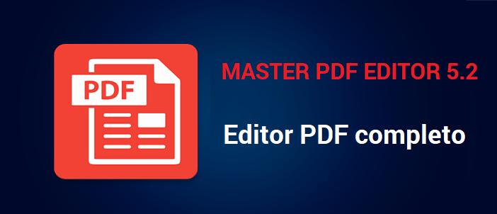 Resultado de imagen para Master PDF Editor 5