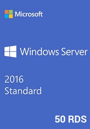 windows server 2016 licencia escritorio remoto rds 50 usuarios