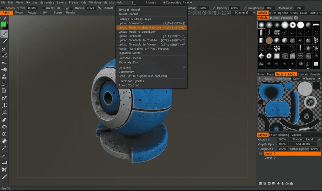 3d coat 4.8 crear modelo 3d esculturas 3d voxel full mega - 3d coat 4 full