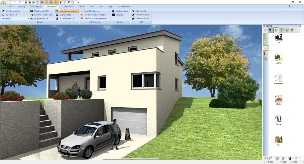 ashampoo home design 5 full mega - diseño de interiores 3d