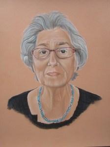 portrait pastels secs