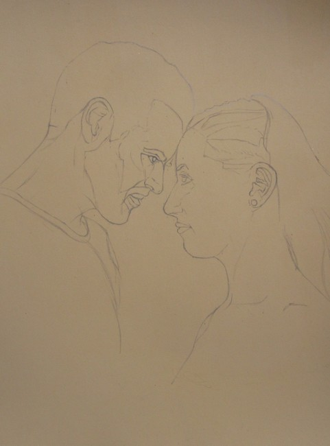 dessin couple
