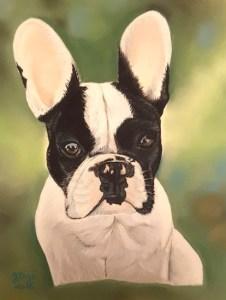 portrait bouledogue