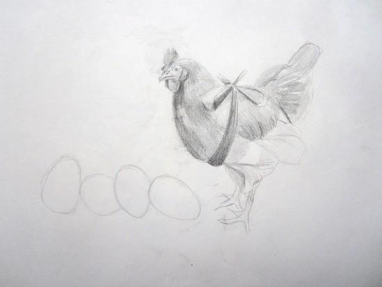 poule paques