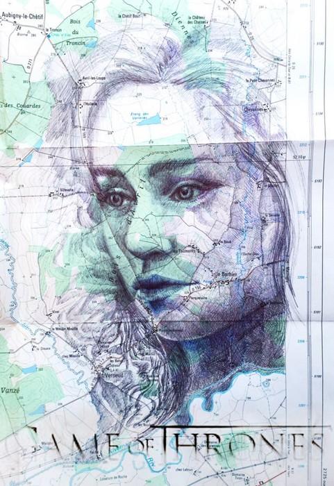portrait khaleesi