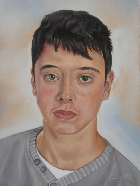 portrait pastel sec