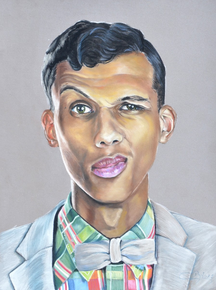 portrait stromae