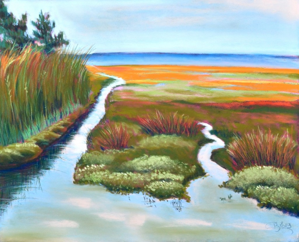 Cours Paysage girondin (Pastels)
