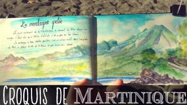 croquis voyage martinique