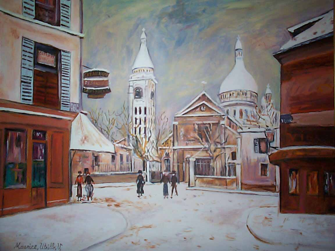 Maurice Utrillo : Unknown title