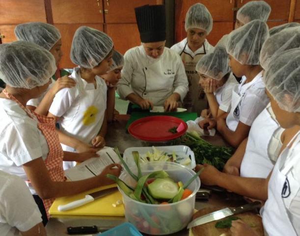 Atelier cuisine ludique et créatif