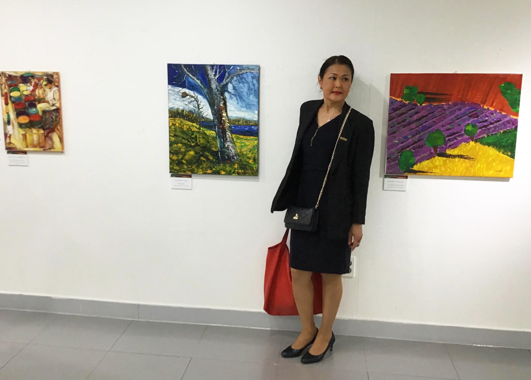 Exposition art Salon des Indépendants Corée du Sud