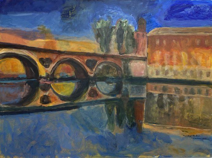 Pont-Neuf-à-Toulouse-130x97cm-Acrylique-sur-toile-2020-s