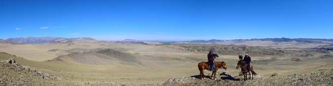 Panoramic Mongolia Shot