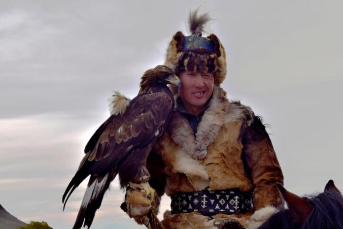 Botei and his eagle
