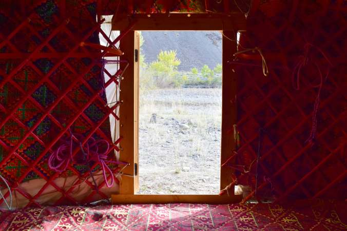 Kazahk Ger Doorway