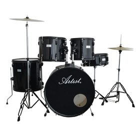 Artist ADR522 5-Piece Drum Kit + Cymbals and Stool