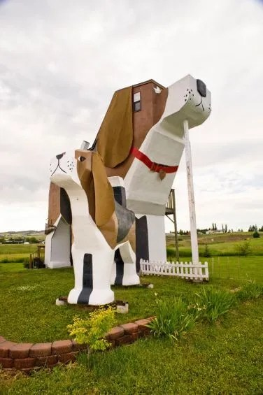 Dog Bark Park Inn, Cottonwood, the USA