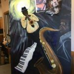 Pamela French Jazz Painting