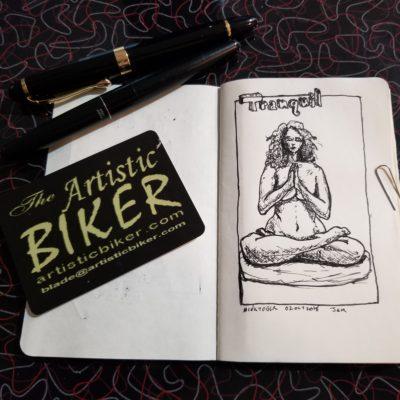 #inktober2018 @inktober @jakeparker #sketch #sketchartist #sketching #drawing #fountainpen #fountainpendrawing #fountainpensketch #pinup #pinupartist #figuredrawing #drawinggirl