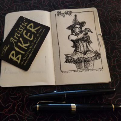 #inktober2018 @inktober @jakeparker #fountainpen #fountainpendrawing #fountainpensketch #sketch #sketchartist #sketching #drawing #pinup #pinupartist #figuredrawing #drawinggirl