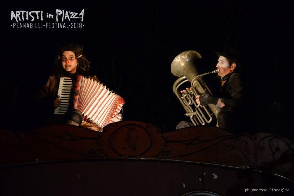 giovedì 14 giugno 2018 / Artisti in Piazza / Pennabilli Festival / ph Vanessa Piscaglia